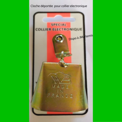 Cloche spéciale collier electronique