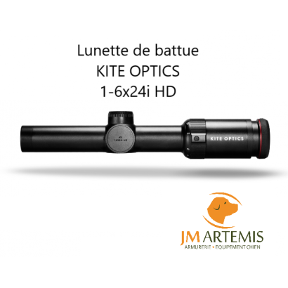 Lunette de battue KITE OPTICS 1-6x24i HD génération 2