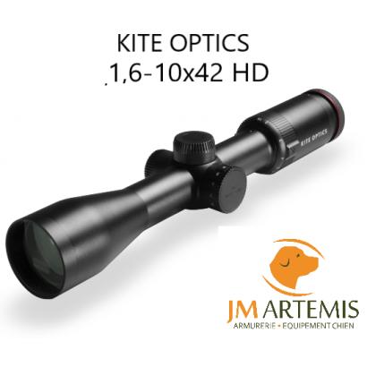 Lunette polyvalente KITE OPTICS K6 1,6-10x42 HD