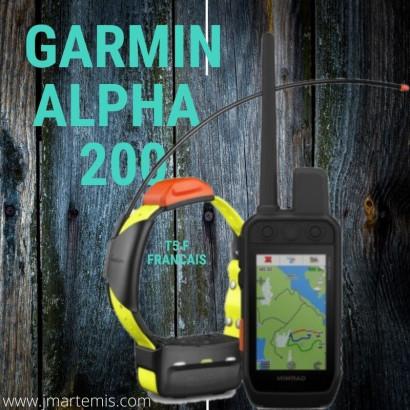 Ensemble garmin alpha 200 FRANCAIS