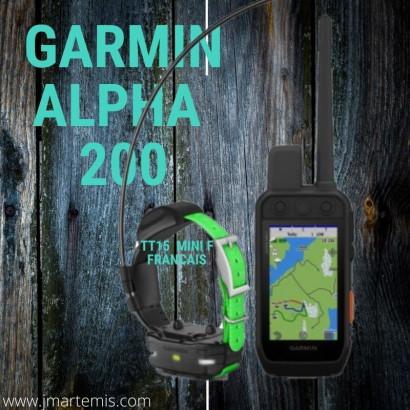ENSEMBLE GARMIN ALPHA 200 TT15 MINI