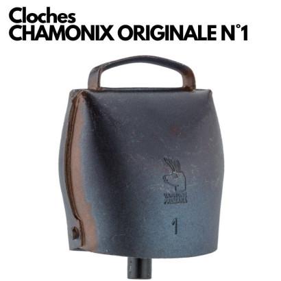 CLOCHE CHAMONIX EN ACIER