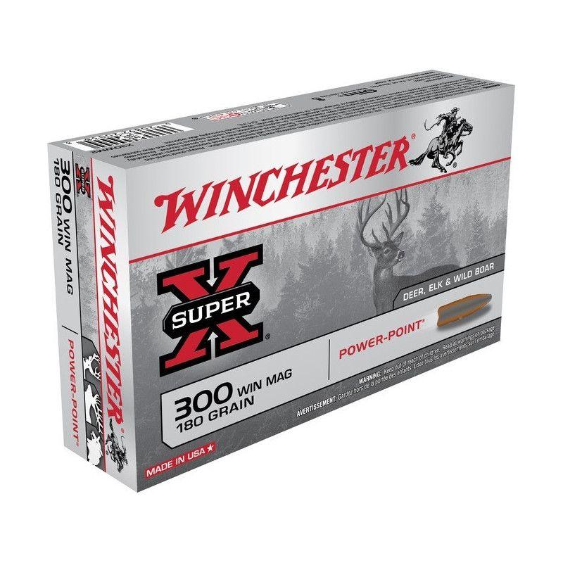 Boite de balles Winchester 7X64 Power point