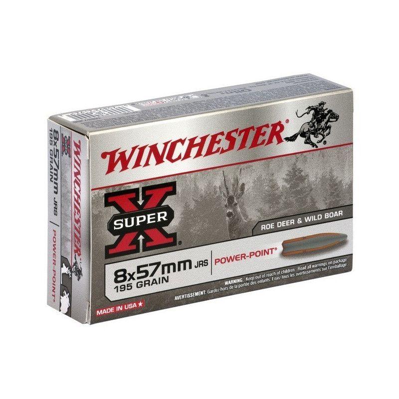 Boite de balles Winchester 8X57 JRS Power point