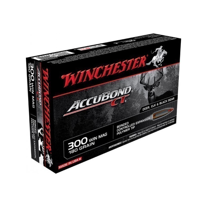 WINCHESTER 300WM ACCUBOND 180GR